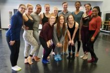 Cast photo for Edward Rice's original choreographic work.
