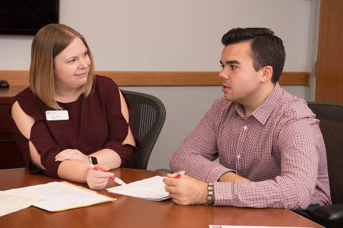 As a career ambassador, Mike Rubio refines his own career skills.