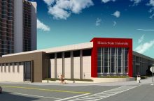 Rendering of the finished Culinary Support Center.