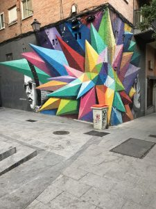 Mural on a wall