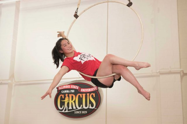 Experienced circus performer and new Redbird is ready for Gamma Phi Circus article thumbnail