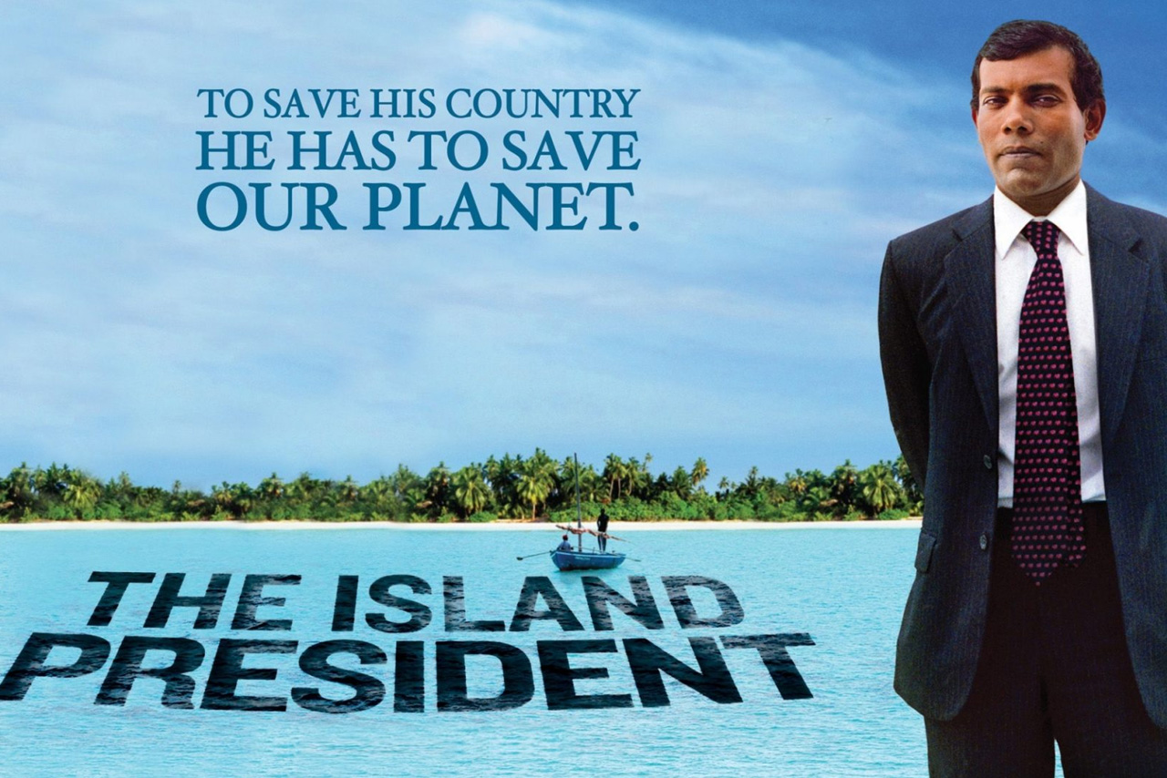To Save His Country He Has To Save Our Planet. The Island President documentary cover