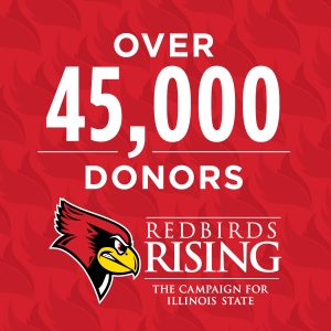 Over 45,000 donors have contributed to the Redbirds Rising campaign as of September 2018