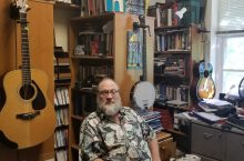 dan liechty in his office