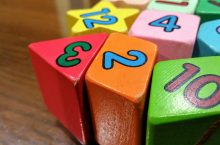 multi-colored number blocks
