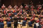 "Image of ""The President's Own"" United States Marine Band in concert."