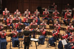 """Image of """"The President's Own"""" United States Marine Band in concert."""