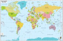 World Map: Where will you go?