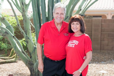Robert (Bob) '67, M.S. '70, and Susan Lee Walling