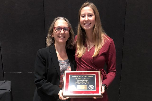 Spanish teacher education major wins award at Reggies article thumbnail