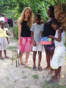 Janae Stork spent three years teaching in Haiti, and learned how to handle cold showers, spotty electricity and tarantulas. She also learned how family extends beyond blood relatives.