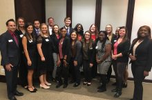 Students network with alums at the inaugural #CASTConnections in Chicago article thumbnail