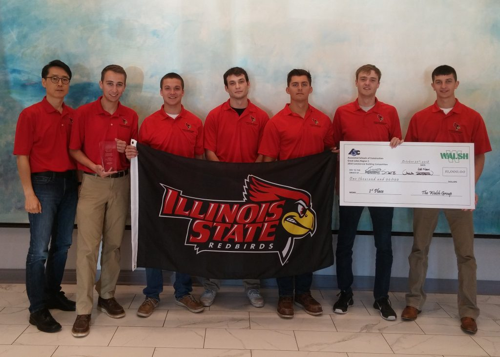 Construction And Interior Design Students Compete In Asc Student Competition News Illinois State
