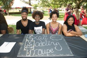 Student organizations like this modeling group connect and build a culture on campus.