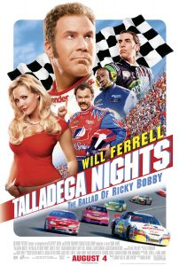 Talladega Nights movie poster
