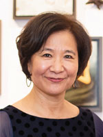 headshot of Wonsook Kim
