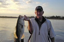Gone fishin' Professor Emeritus Bill Kauth