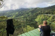 Brendan Flynn in Costa Rica: Never have I seen mountains so green.