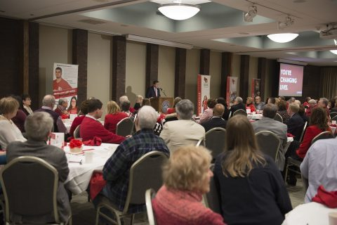 President Larry Dietz thanks loyal donors and announces challenge to the campus community article thumbnail