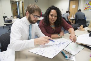 High school teachers from throughout the country come to ISU every summer to participate in a math research program.