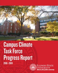 report cover with picture of DeGarmo and Fell halls and the ISU logo