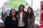 employers from Enterprise connect with students at the Expo