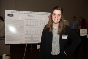 Danielle Belon at the Research Symposium