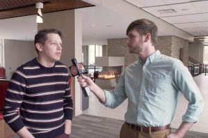 Video: Interview with student who ran for Normal Town Council article thumbnail