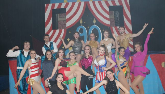 Honors Gamma Phi Circus students