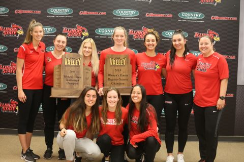 The Illinois State women's tennis team