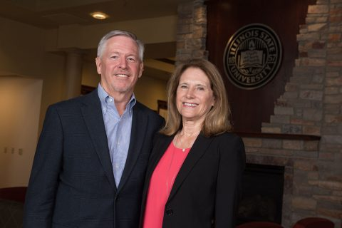 Stephen '73 and Sharon Hagge '73