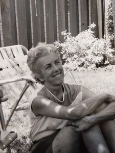Lucy Patterson in the early 1990s.