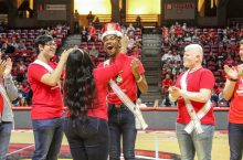 Isaac Hollis named Homecoming king.