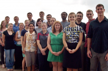 Group photo of students