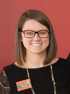 Country Financial's Kelsey Gebhart identify students to recruit