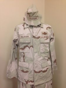 Desert Camouflage Air Force uniform, 2004, in Boot Camp