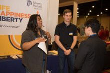 Employers find outstanding talent at Illinois State's career fairs