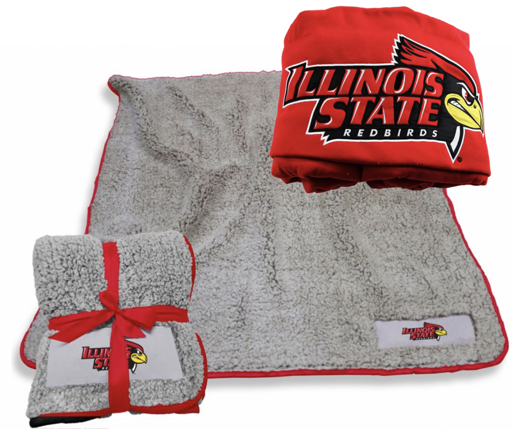 Two Different Illinois State Blankets