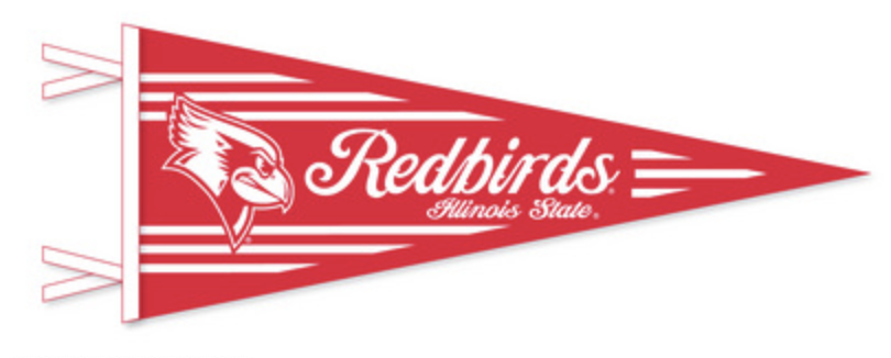 Red and White Redbirds Pennant