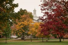 Illinois State Quad in the fall