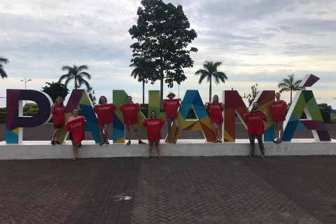 Nine Mennonite College of Nursing seniors traveled to Panama for a transcultural America Promise Nursing Clinical.