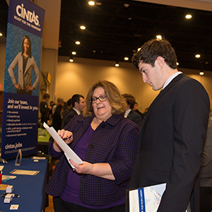 Penny Darnall is a recruiter for Cintas