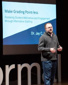 Jay Percell presents at TEDxNormal