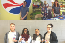people with AmeriCorps and Peace Corps logos