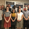group photo of graduate students