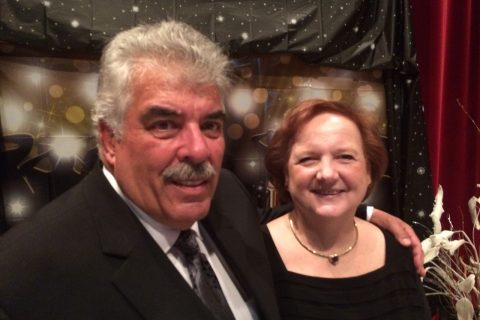 Donors Tom and Claire Lamonica