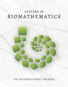 cover of Letters in Biomathematics journal with words An international journal and a logo
