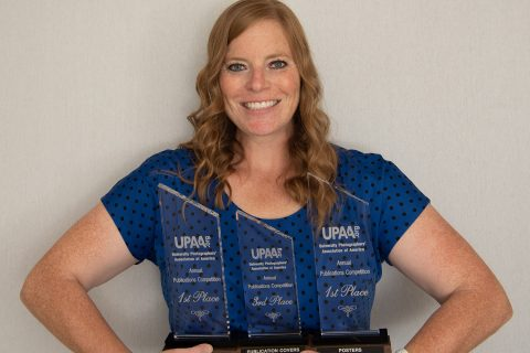 ISU photographer Lyndsie Schlink wins 3 awards from University Photographers' Association of America article thumbnail
