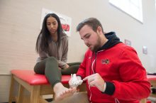 New Master of Athletic Training program continuing history of success article thumbnail