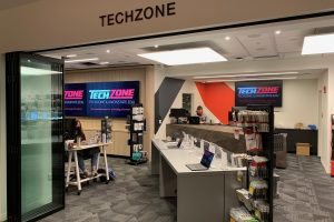 TechZone is in a new location on the first floor of the Bone Student Center